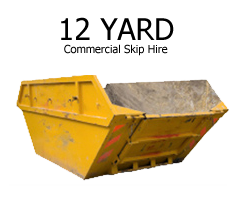 12 Yard Commercial Skip Hire Stockton