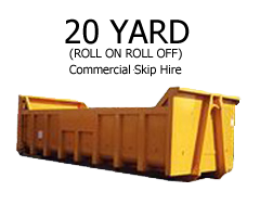 20 Yard Commercial Skip Hire Teeside